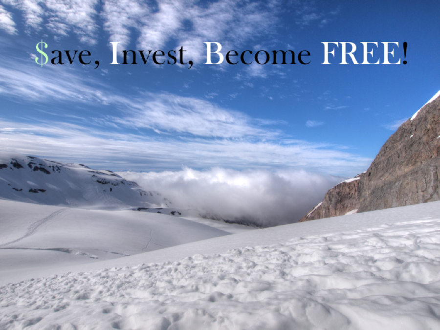 Save, Invest, Become Free!